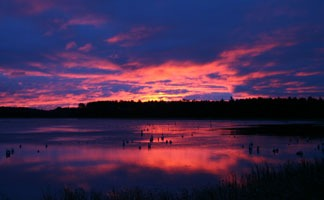 Autumn Sunrise, Oneida County, WI