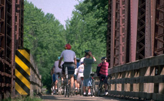Discover Onalaska by bike!