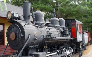 Logging Museum in Rhinelander, Wisconsin