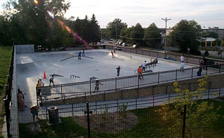Skateboard Park in Middleton