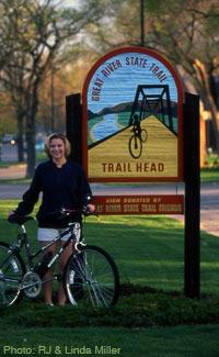 Biking in Onalaska