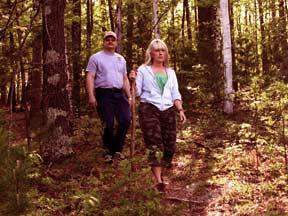 Hiking in Oneida County, WI