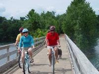 Biking in Minocqua, Oneida County, Wisconsin
