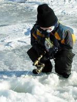Kid Ice Fishing