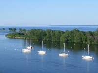 Millers Bay and Lake Winnebago