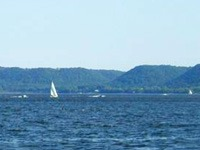 Sail Boats on Lake Pepin