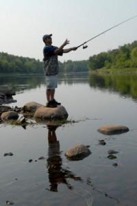 Fishing the Flambeau River, Rusk County
