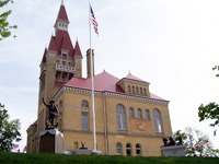 Old Courthouse Museum in West Bend, Wisconsin
