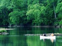 Canoeing in Black River Falls