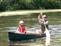 Family Canoeing in Onalaska