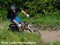 Mountain Biking in Middleton Bike Park