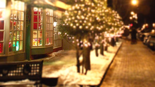 Boulder Junction Holiday Shopping by Eric Johnson