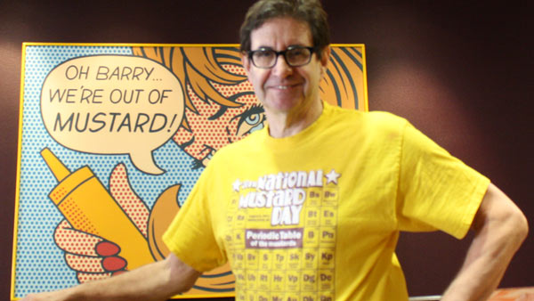 Barry of the Mustard Museum