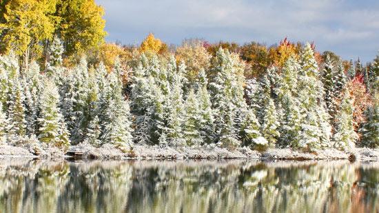 Boulder Junction Winter