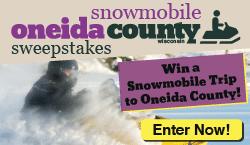 Snowmobile Oneida County Sweepstakes
