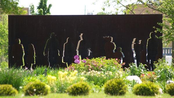 West Bend Sculpture Walk by Jacob Ciszny