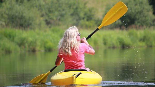Kayaking in Oneida County by Dennis Deitz