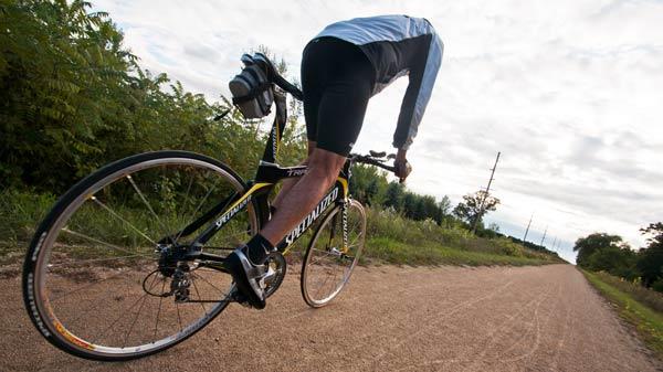 Biking Tomorrow River State Trail
