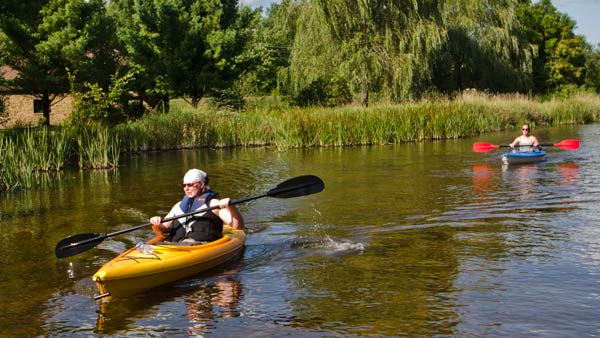 Kayaking in Stevens Point by KT Elements