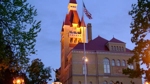 Old Courthouse by Stephanie Bintz in West Bend