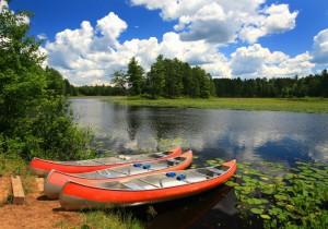 BOU canoes Manitowish River 3