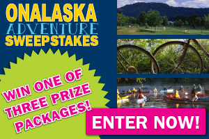 Enter Onalaska Adventure Sweepstakes and Win!