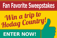 Enter now and win a trip to Hodag Country!