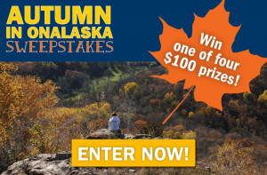 Enter the Autumn in Onalaska Sweepstakes!