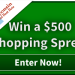 Enter to win a $500 Shopping Spree!