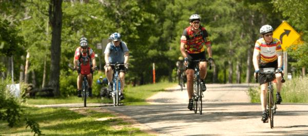 Biking in Wisconsin