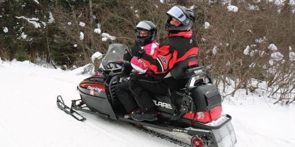 Winter Snowmobiling