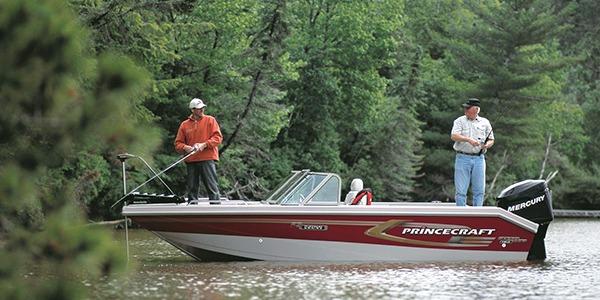 Fishing on Trout Lake