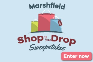Marshfield Shop 'til You Drop Sweepstakes