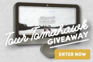 Enter - Tour Tomahawk Giveaway