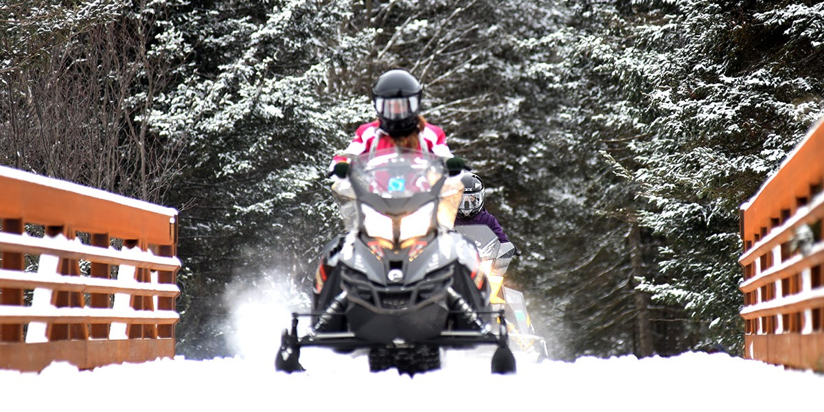 Find snowmobile trails