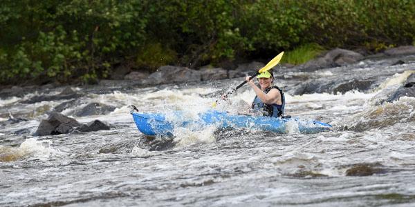 Kayaking in Rusk County Wisconsin