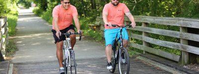 Bike trail in West Bend