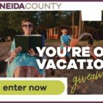 Oneida County You're on Vacation Giveaway