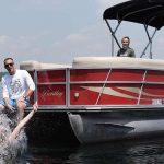 Pontoon boating in Middleton