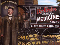 Black River Falls Historic Murals