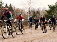Mountain bike race