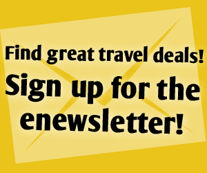 Sign up for the e-newsletter and receive information on packages and deals!