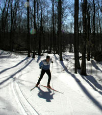 Ski The  Blue Hills in Rice Lake, Wisconsin